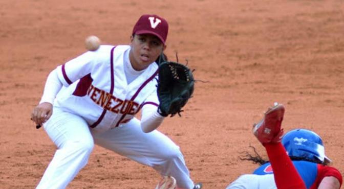 Venezuela venció a China Taipéi en Súper Ronda del Mundial Femenino de Béisbol